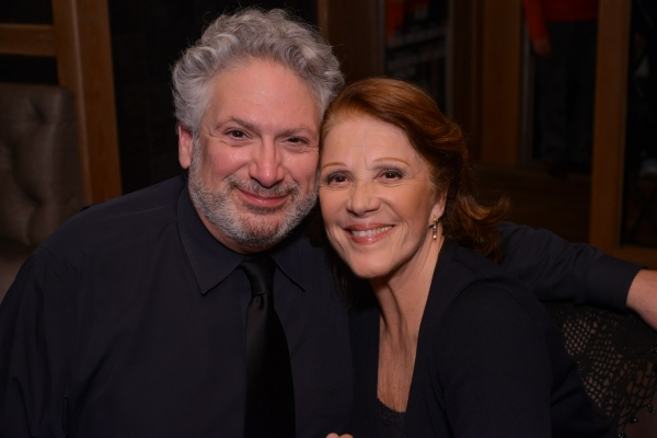Harvey Fierstein and Linda Lavin at Behind the Scenes of PERFECTLY MARVELOUS with Anne Hathaway, Eddie Redmayne, Audra McDonald, and More!