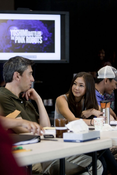 Photo Flash: First Look at Kimiko Glenn and More in Rehearsals for La Jolla's YOSHIMI BATTLES THE PINK ROBOTS
