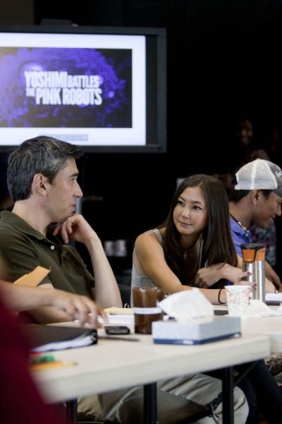 John Haggerty and Kimiko Glenn