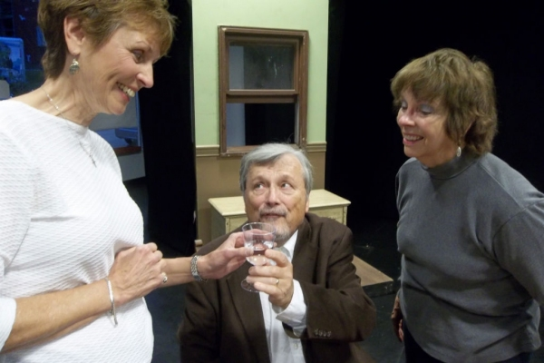 Photo Flash: First Look at Joyce Miller, Patrick Conner and More in Rehearsals for ARSENIC AND OLD LACE