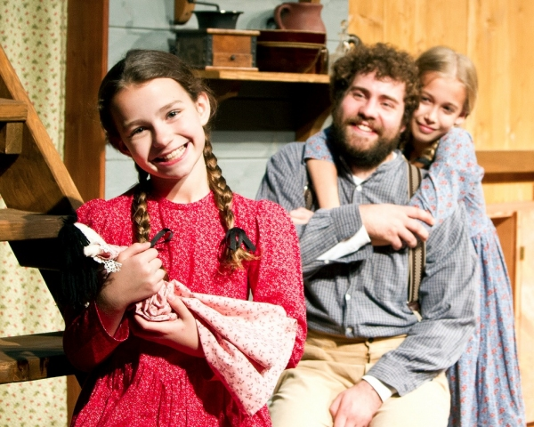 Photo Flash: First Look at DM Playhouse's LITTLE HOUSE CHRISTMAS AT PLUM CREEK