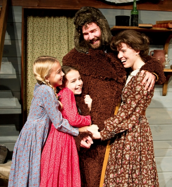 Photo Flash: DM Playhouse Opens LITTLE HOUSE CHRISTMAS AT PLUM CREEK Tonight, 11/9