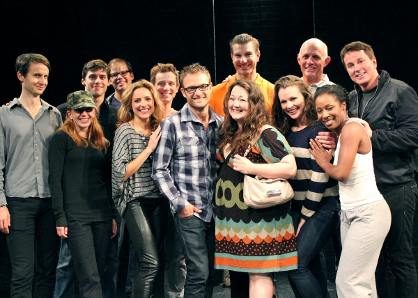 Chad Allen with the Cast of SILENCE! The Musical