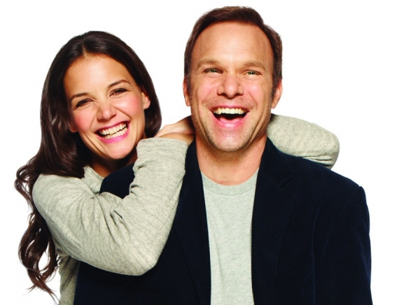 Photo Flash: Hot Shots - Norbert Leo Butz and Katie Holmes Laugh It Up for DEAD ACCOUNTS!