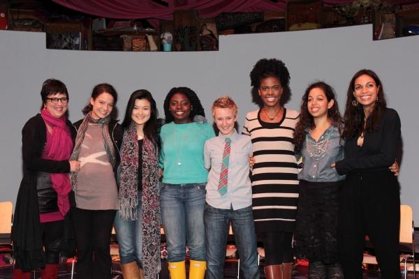 Eve Ensler, Molly Carden, Olivia Oguma, Joaquina Kalukango, Emily S. Grosland, Ashley Bryant, Sade Namei, Rosario Dawson