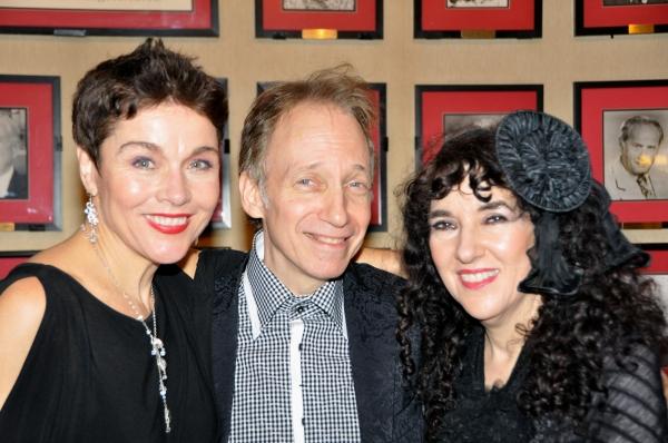 Christine Andreas, Scott Siegel and Barbara Siegel