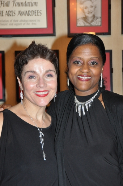 Christine Andreas and Lumiri Tubo