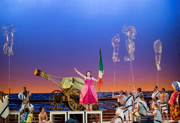 BWW Reviews: HGO's THE ITALIAN GIRL IN ALGIERS Sparkles with Rib-Tickling Whimsy