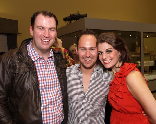 Brad Fitzgerald, Juan Guillen, and Kristen Lamoureux