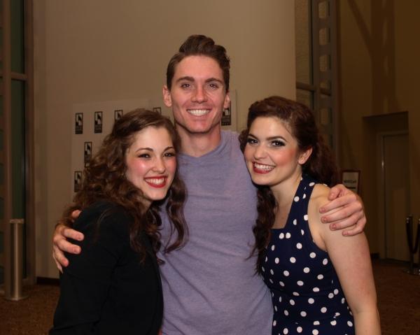 Tessa Grady, Zach Hess, and Caitlyn Calfas