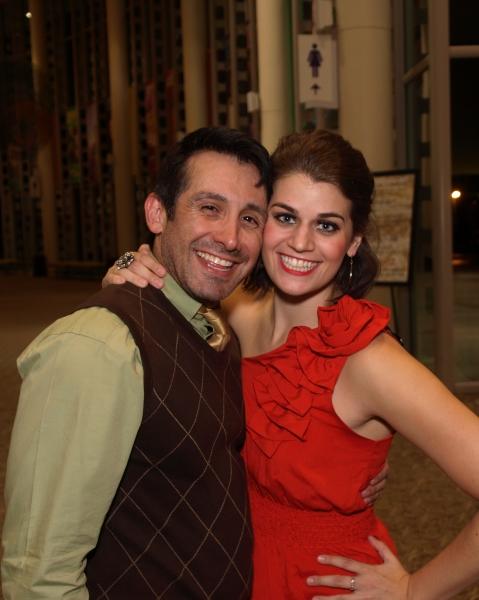 Venny Carranza and Kristen Lamoureux