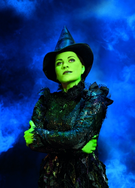 Photo Flash: First Look at Louise Dearman as 'Elphaba' in West End's WICKED