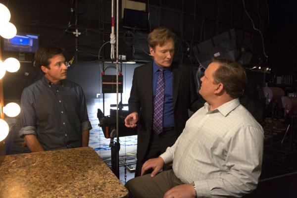 Jason Bateman, Conan O'Brien, Andy Richter