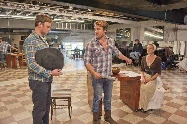Photo Flash: In Rehearsal with Bay Street Theatre's THE CRUCIBLE