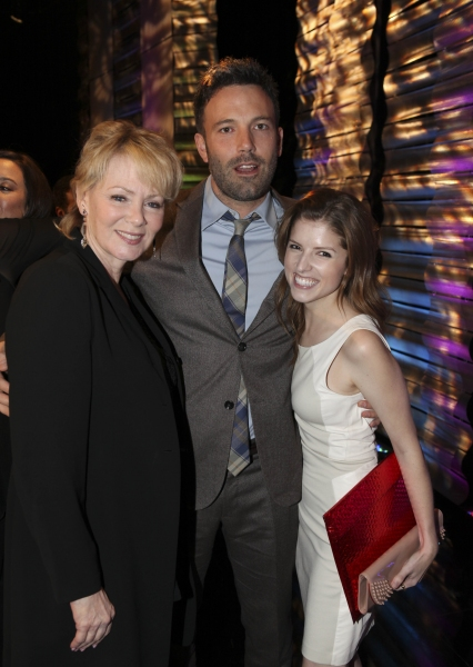 From left, actors Jean Smart, Ben Affleck, Career Achievement Award winner and Anna Kendrick pose during the 2012 Casting Society of America Artios Awards held at the Beverly Hilton Hotel on Monday Oct. 29, 2012 in Beverly Hills, Calif. (Photo by Ryan Mil