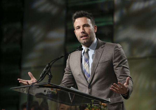 Ben Affleck, Career Achievement Award winner speaks during the 2012 Casting Society of America Artios Awards held at the Beverly Hilton Hotel on Monday Oct. 29, 2012 in Beverly Hills, Calif. (Photo by Ryan Miller/Capture Imaging)