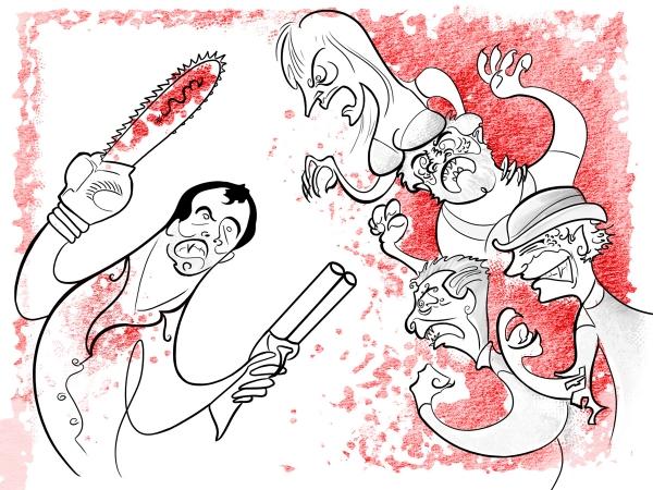 STAGE ART: 'Evil Dead El Musical' en Madrid
