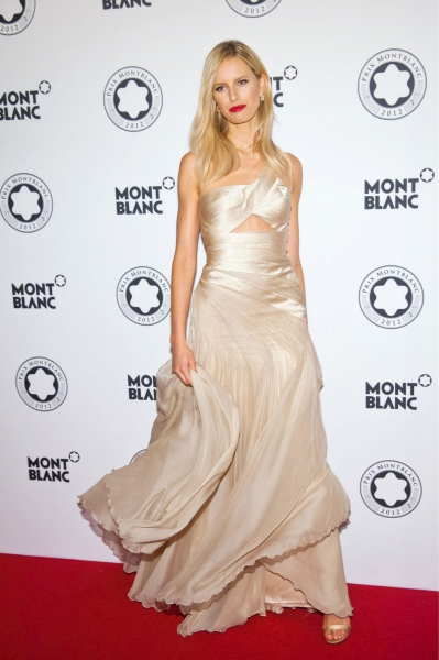 Karolina Kurkova Prix Montblanc, Berlin (Photo by Willi Schneider/Rex USA)