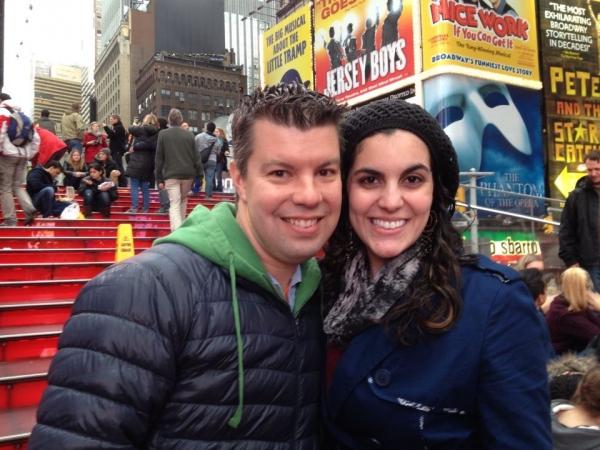 Jacob Brent and Jessica Gordon