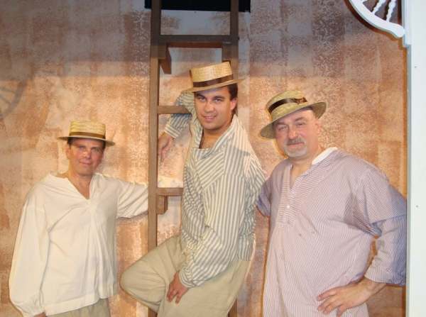 Photo Flash: First Look at Oyster Mill Playhouse's MY THREE ANGELS