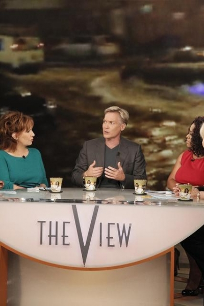 JOY BEHAR, SAM CHAMPION, SHERRY SHEPHERD, BARBARA WALTERS    at A Look at Today's Halloween Episode of THE VIEW