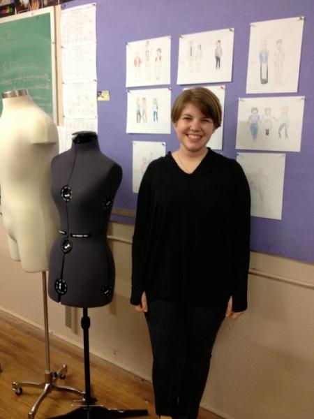 STUDENT CENTER: St. Bonaventure University Senior Destined for Career in Design