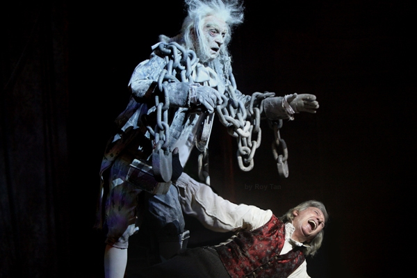 Jacob Marley and Tommy Steele