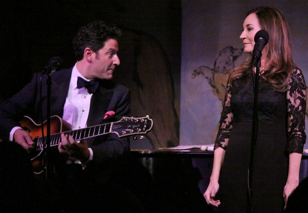 Photo Flash: John Pizzarelli & Jessica Molaskey Paly Café Carlyle