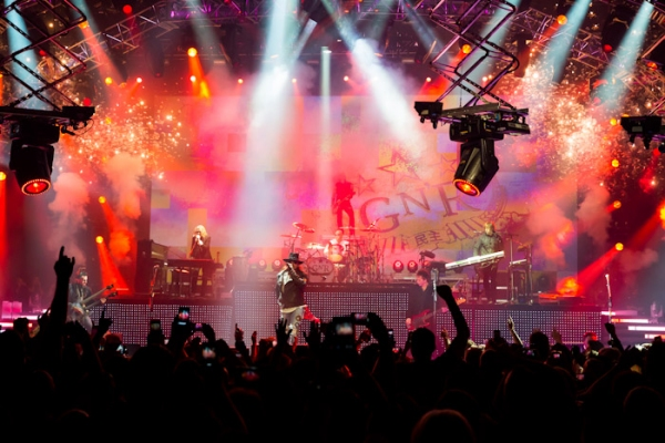 Photo Flash: Opening Night of GUNS N' ROSES' Residency at Hard Rock Vegas