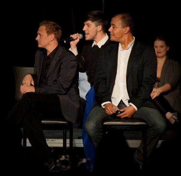 Chad Richardson, Andres Sierra and Gavin Hope