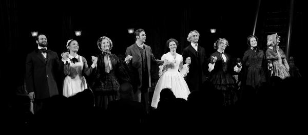 at Opening Night of THE HEIRESS - Curtain Call