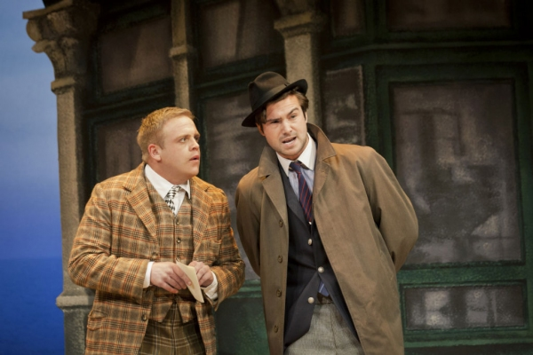 Photo Flash: First Look at Owain Arthur, Ben Mansfield and More in ONE MAN, TWO GUVNORS