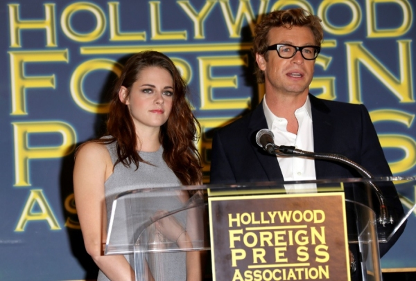 Kristen Stewart, Simon Baker at Kristin Stewart, Simon Baker Announce Cecil B. DeMille Award