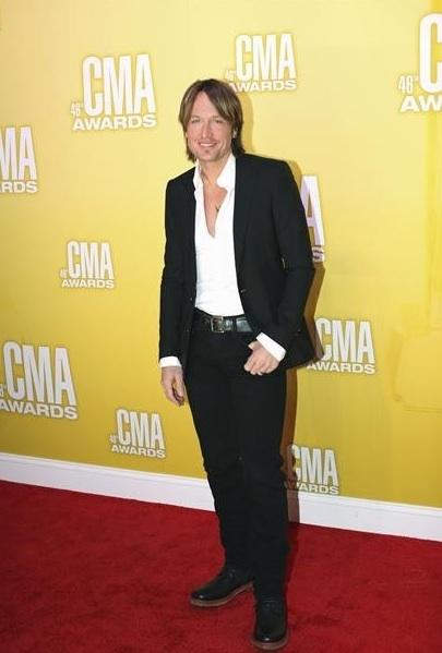 Keith Urban at Swift, Lambert & More at CMA AWARDS on ABC