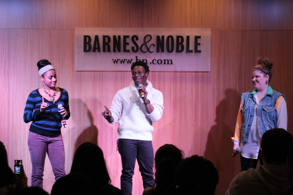 Photo Coverage: Lin-Manuel Miranda and BRING IT ON Cast Celebrates CD Release at Barnes & Noble!