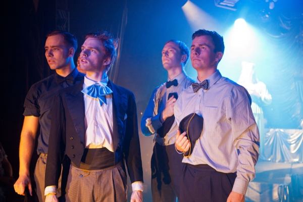 Johnny Adel (Brett Shiels) Buddy Becker (Samuel Parker), Luke Adams (Ben Beard), Couple 34 (Simon Mayhew)