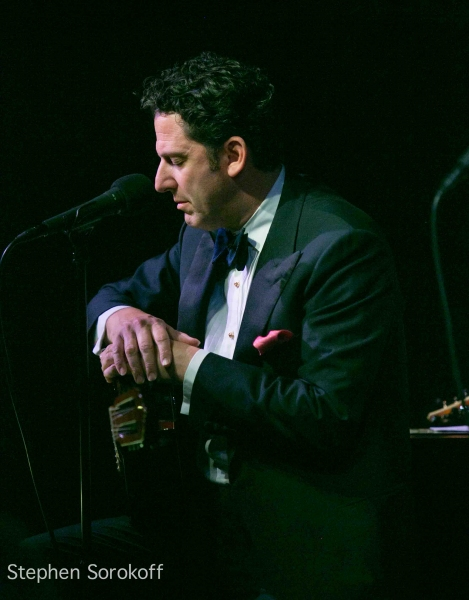 John Pizzarelli at More Photos of John Pizzarelli and Jessica Molaskey on Opening Night at Cafe Carlyle