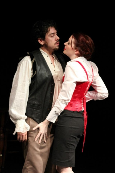 Christopher Marlowe and Emilia Lanier (Scott McWhirter and Haley E.R. Cooper) Photo