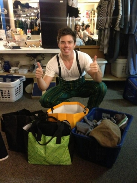 Photo Flash: Saturday Intermission Pics, Nov 3 - NEWSIES Channel CHICAGO, Broadway for Hurricane Relief & More!