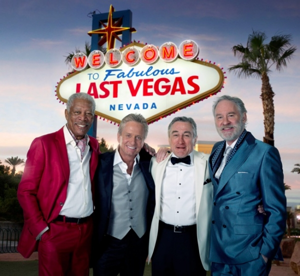 Morgan Freeman, Michael Douglas, Robert DeNiro, Kevin Kline at First Look - Kline, Freeman & More in LAST VEGAS