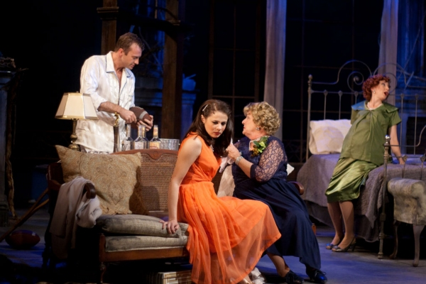 Photo Flash: First Look at Barbara Bradshaw, Robert Eli and More in Flat Rock's CAT ON A HOT TIN ROOF