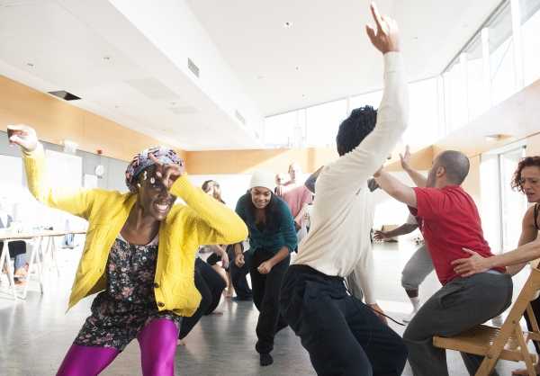 Photo Flash: In Rehearsal with Tricycle Theatre's ARABIAN NIGHTS