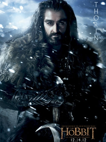 Photo Flash: New Character Posters for THE HOBBIT Released