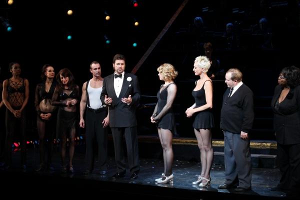R. Lowe, Amy Spanger, Amra-Faye Wright, Cory English, Carol Woods & Company Photo