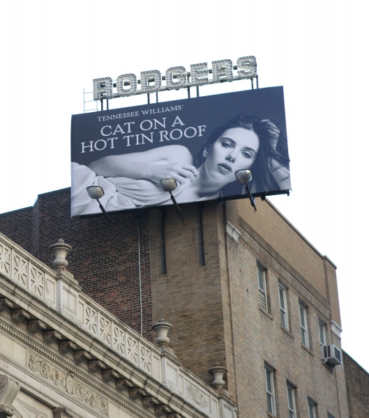 Up on the Marquee: CAT ON A HOT TIN ROOF