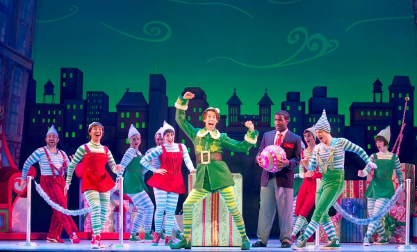 Photo Flash: First Look at ELF National Tour Cast!