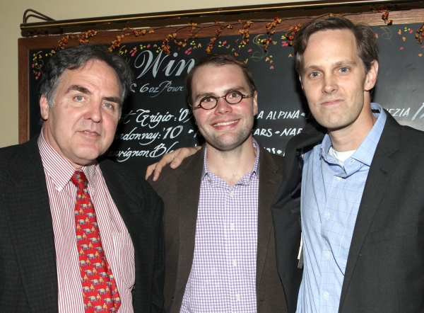Artistic Director Tim Sanford, Playwright Samuel D,. Hunter & Director Davis McCallum