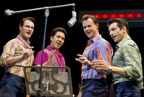 John Lloyd Young's return to JERSEY BOYS this summer (with Matt Bogart, Quinn VanAntwerp and Andy Karl)