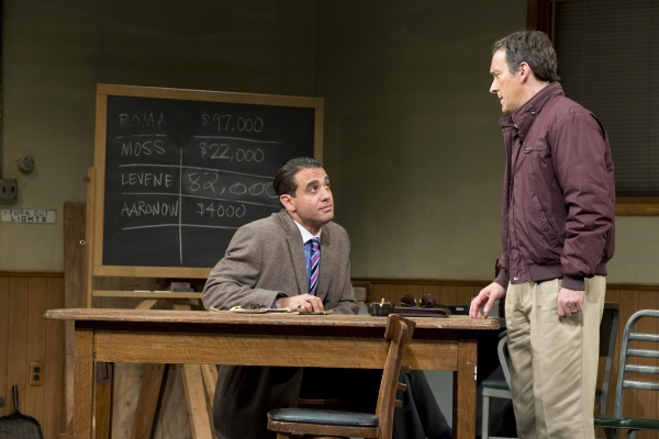 Bobby Cannavale and Jeremy Shamos at First Look at Al Pacino, Bobby Cannavale, and More in GLENGARRY GLEN ROSS
