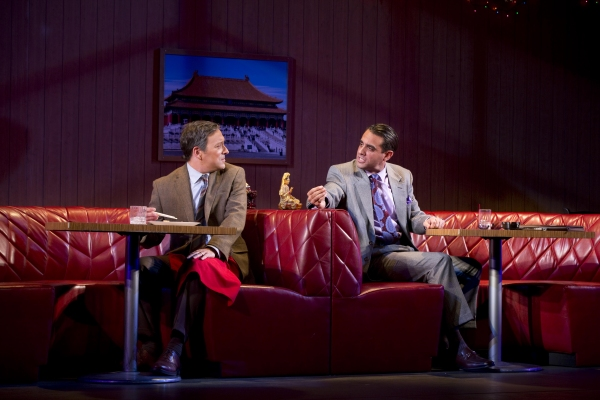 Jeremy Shamos and Bobby Cannavale at First Look at Al Pacino, Bobby Cannavale, and More in GLENGARRY GLEN ROSS